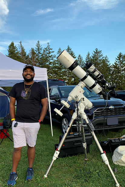 My Telescope and I at Cherry Springs, Pennsylvania