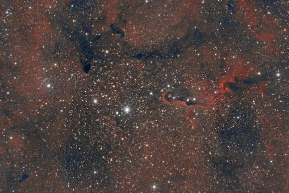 IC1368 The Elephant Trunk Nebula