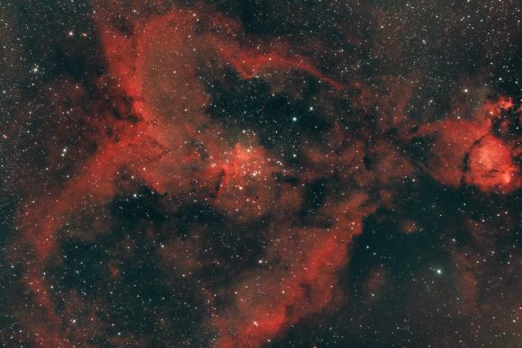 IC1805 The Heart Nebula