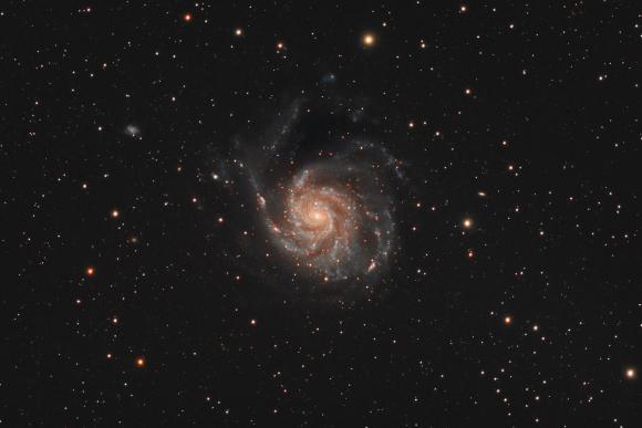 Messier 101, The Pinwheel Galaxy.